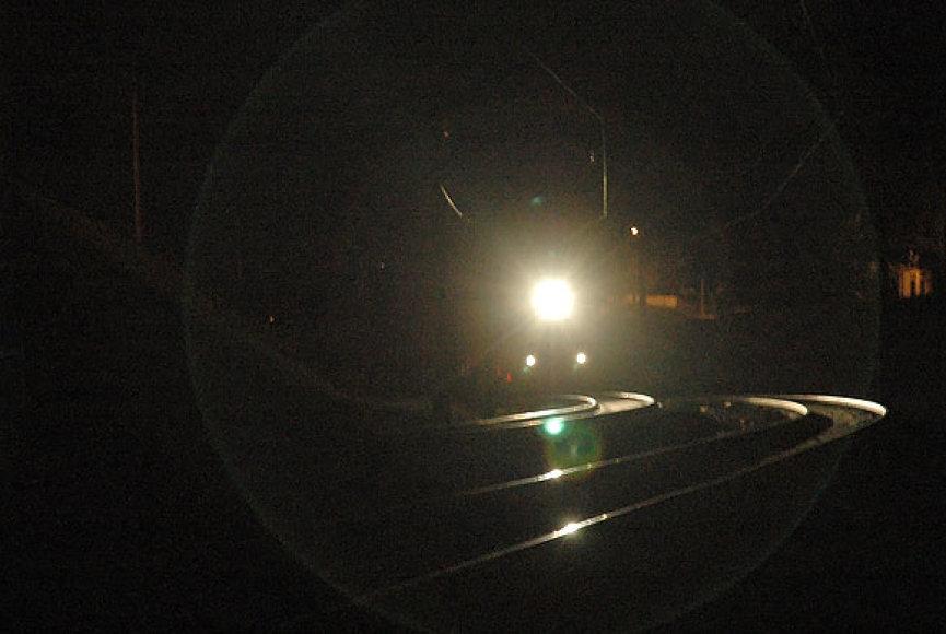 Geležinkelio bėgiai. 2009.05.29