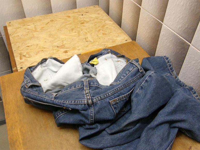 Narkotikai džinsuose