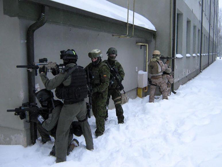 Specialiųjų operacijų pajėgų kariškių pratybos