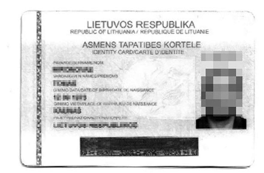 """""""Fantazijos dokumentas"""", kuriuo Prancūzijoje naudojosi rusas"""