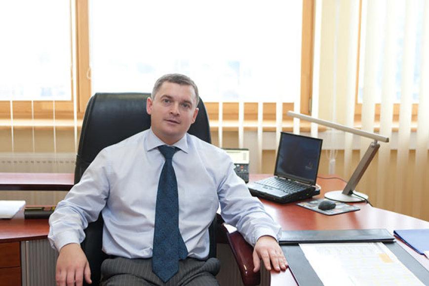 Lietuvos pašto generalinis direktorius Andrius Urbonas