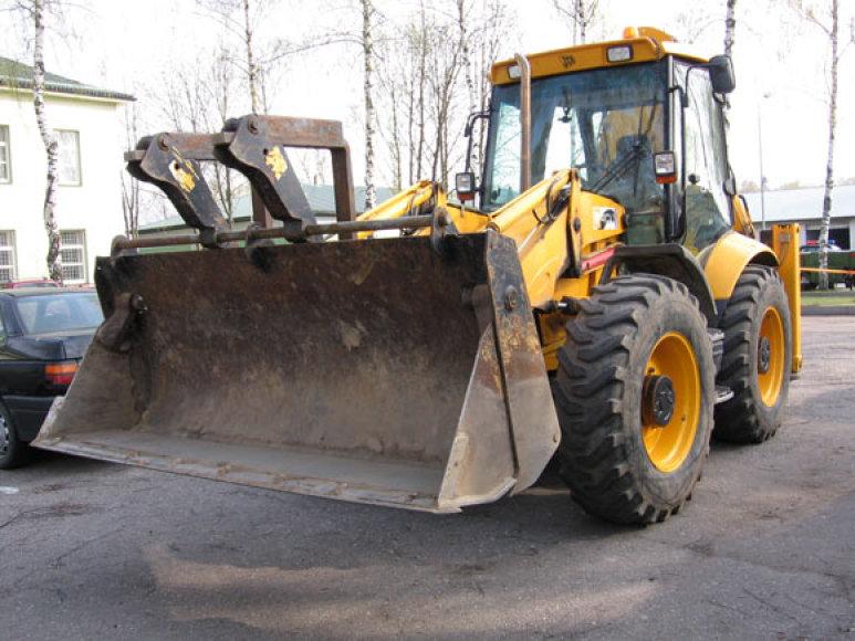 Vogtas traktorius