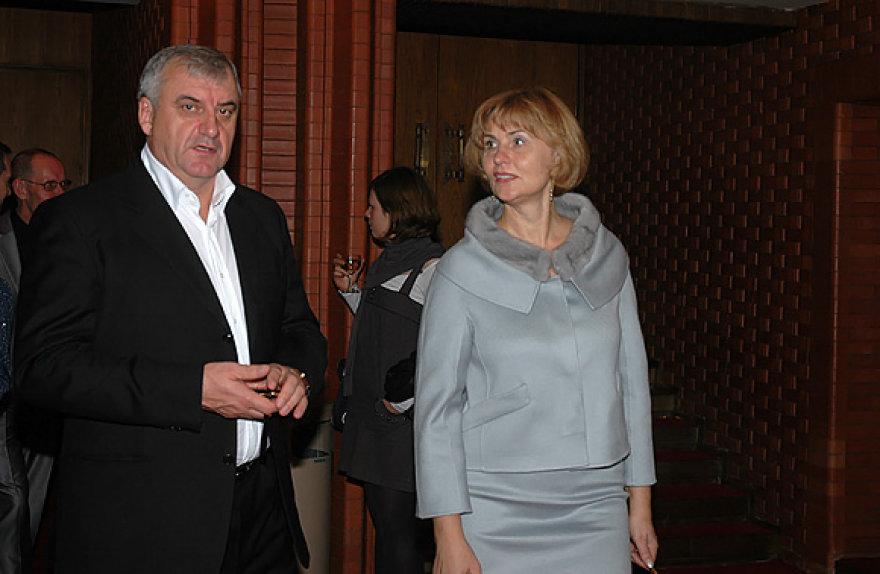 Ivanas Paleičikas su žmona