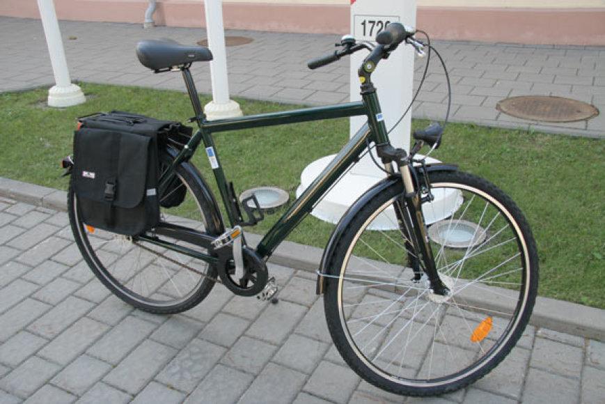 Naujasis pasieniečių dviratis