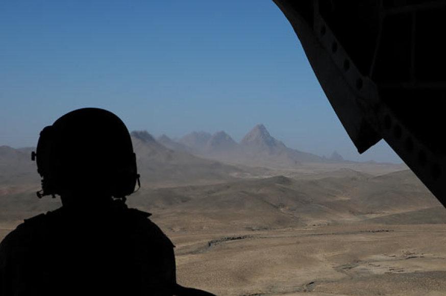 Skrydis virš Afganistano