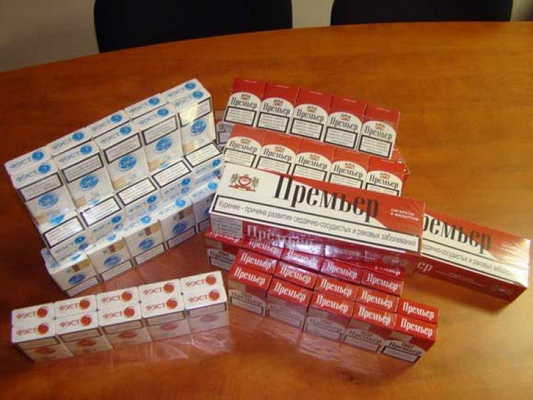 Elektrėnuose aptiktos cigaretės