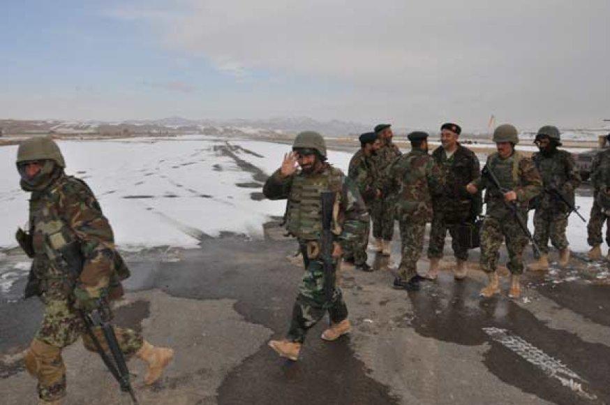 Afganistano kariai Čagčarano oro uoste