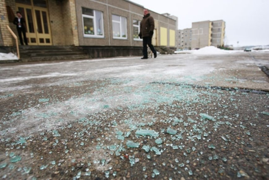 Šioje vietoje penktadienio rytą Kaune rastas nušautas žmogus