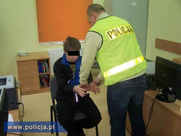 Lenkijoje sulaikytas įtariamasis