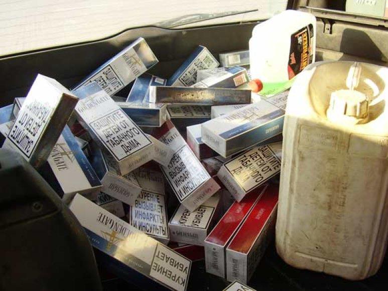 Sulaikytos cigaretės