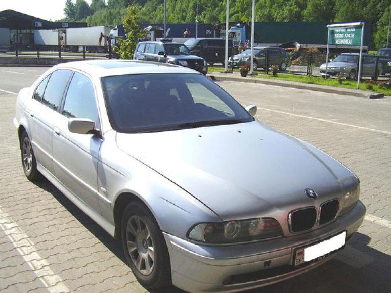 Vokietijoje vogtas BMW