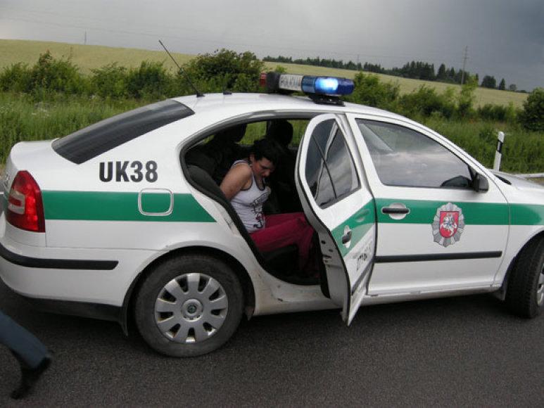 Įtariamųjų sulaikymo vietoje