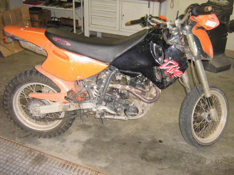 Kelių erelio motociklas