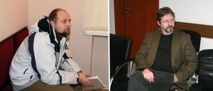 Gintaras Kazakas ir Audrius Butkevičius