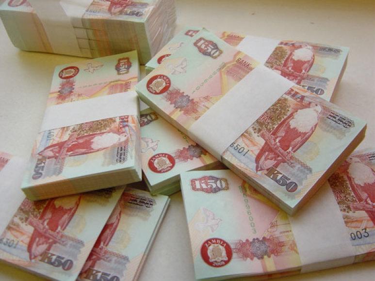 Konfiskuoti pinigai