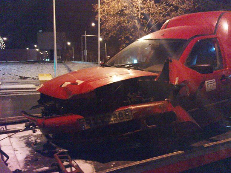 Apgadintas VW Caddy