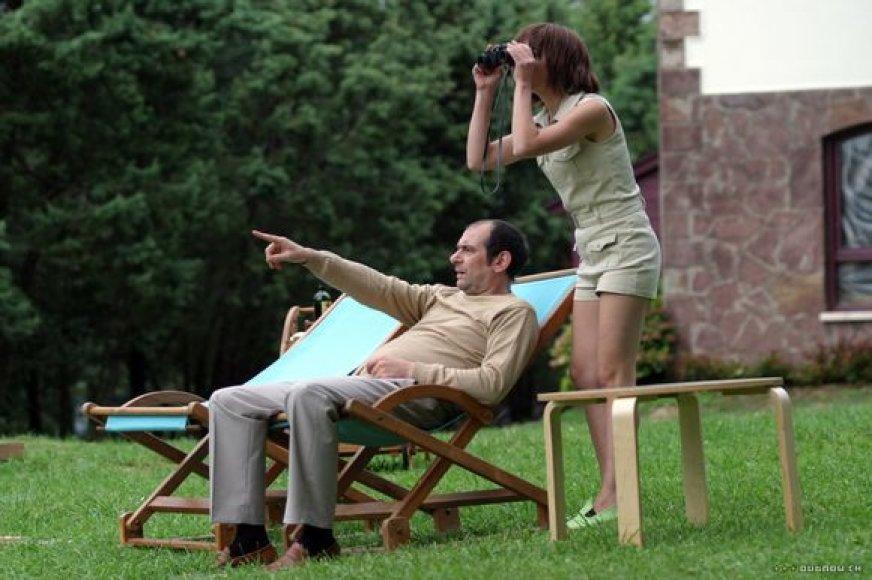 """Filmo """"Laiko nusikaltimai"""" režisierius Nacho Vigalondo savo darbu kalba giliai, aštriai ir koncentruotai – to jis išmoko kurdamas trumpametražius filmus."""