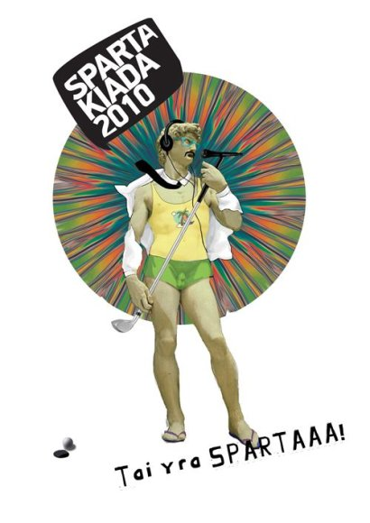 """Spartakiada"": futbolas, techno, krepšinis, disco!"