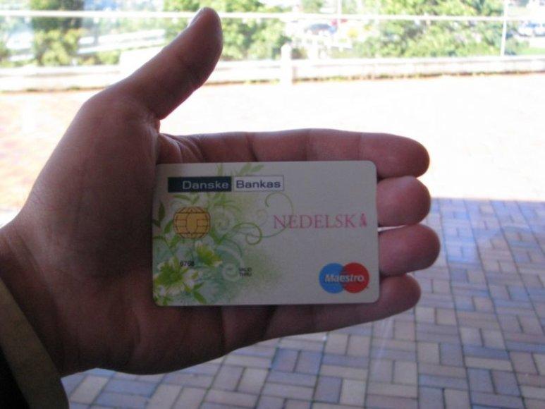 NEDELSK geros valios kortelė
