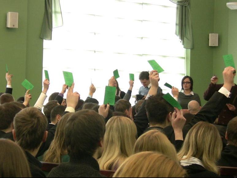 KTU studentų atstovybės ataskaitinė-rinkimų konferencija
