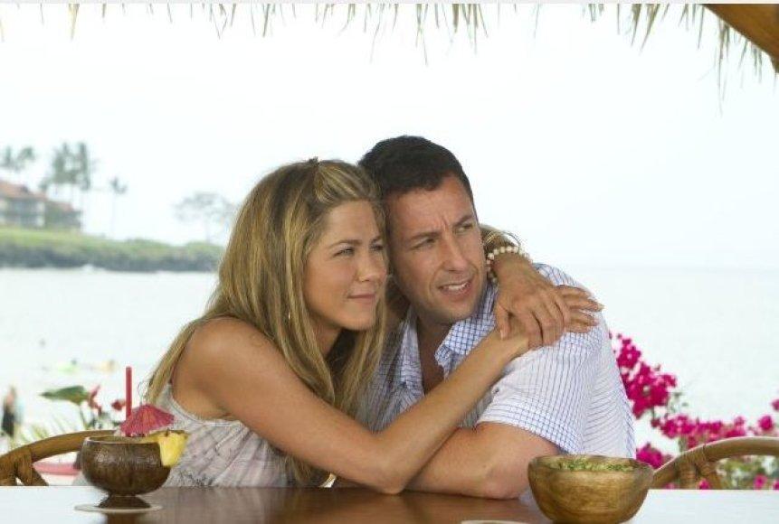 """""""Suvaidink mano žmoną"""" tapo dvyliktu šimtamilijoniniu A.Sandlerio filmu."""