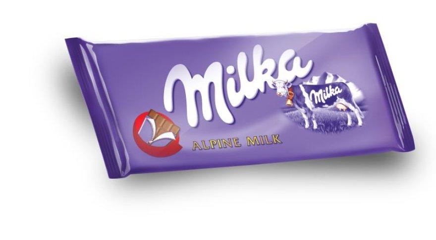 """Nepamirštamo švelnumo šokoladas """"Milka"""""""