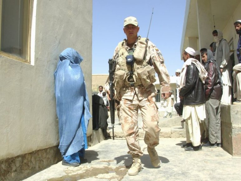 Lietuvos karys Afganistane.