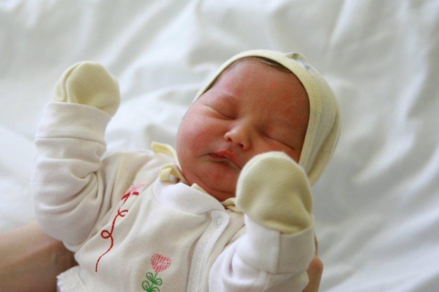 Antroji Naujųjų naktį pasaulį išvydo Kristinos Jokulienės dukrytė.