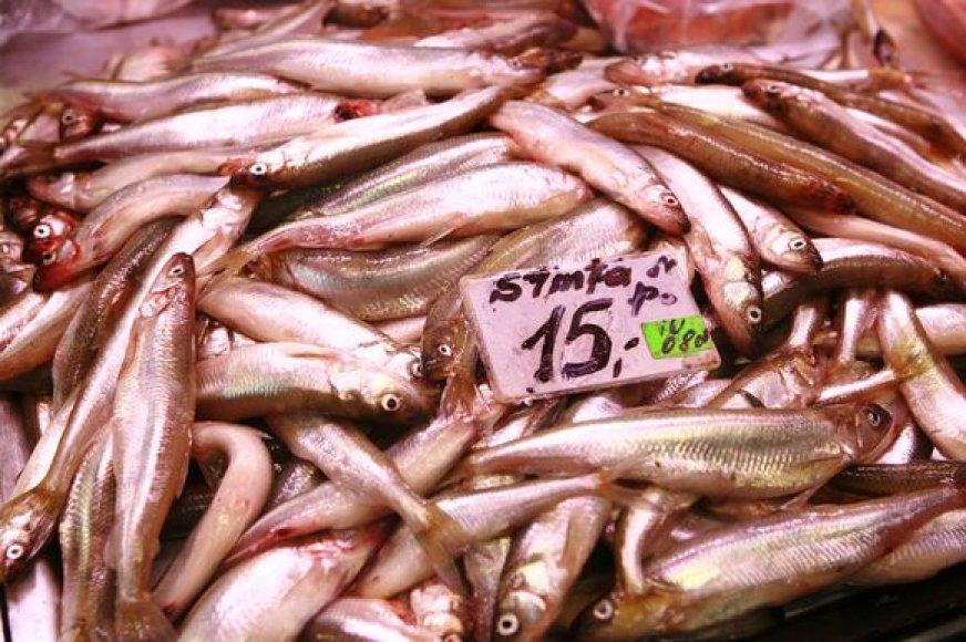 Kilogramas stintos uostamiesčio turguje šiuo metu kainuoja 15 Lt.
