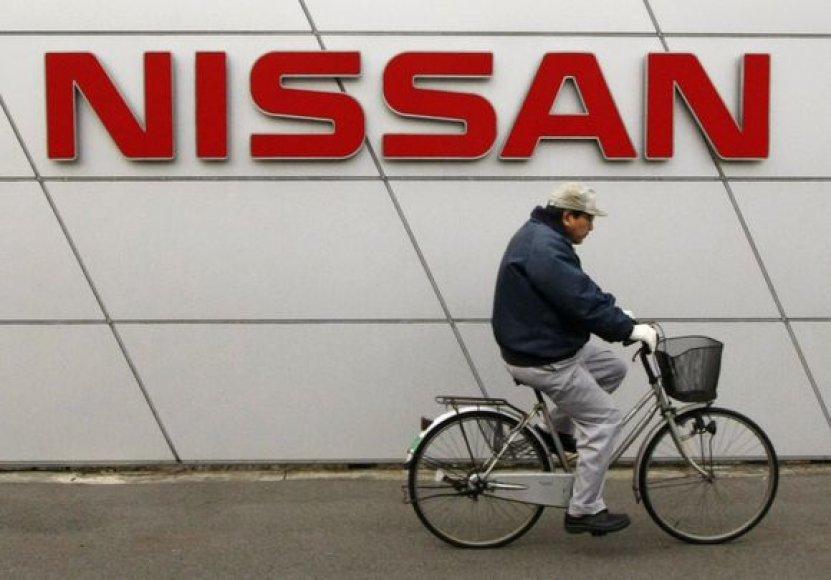 """""""Nissan"""" prognozuojamas 2,9 mlrd. JAV dolerių einamųjų finansinių metų nuostolis."""