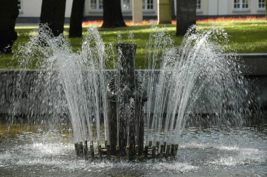 Skulptorius J.Ruzgas įtaria skulptūrą išniekinus vandalus.