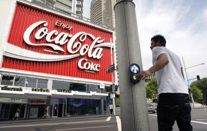 Per antrąjį šių metų ketvirtį didžiausia pasaulyje nealkoholinių gėrimų gamintoja uždirbo 2,04 mlrd. dolerių.