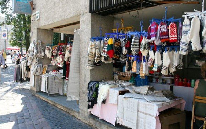Prekyba Pilies gatvėje
