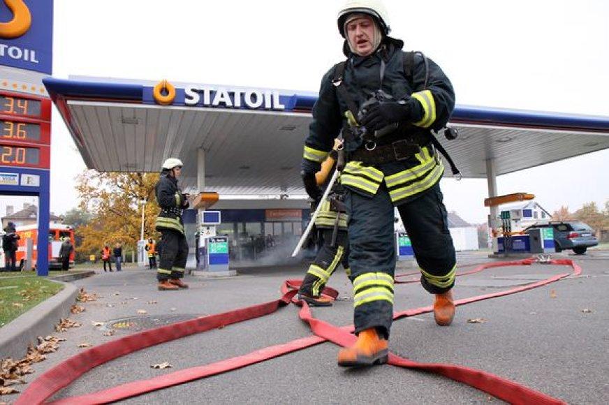 Ugniagesių pratybos