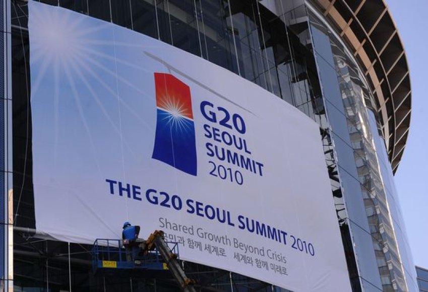 Seulas ruošiasi Didžiojo dvidešimtuko susitikimui