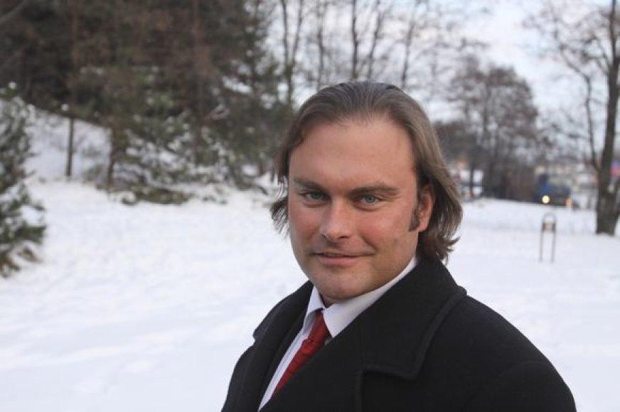 Lietuvos naftos produktų prekybos įmonių asociacijos prezidentas Lukas Vosylius