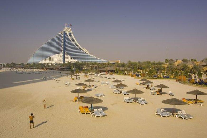 Paplūdimys Dubajuje