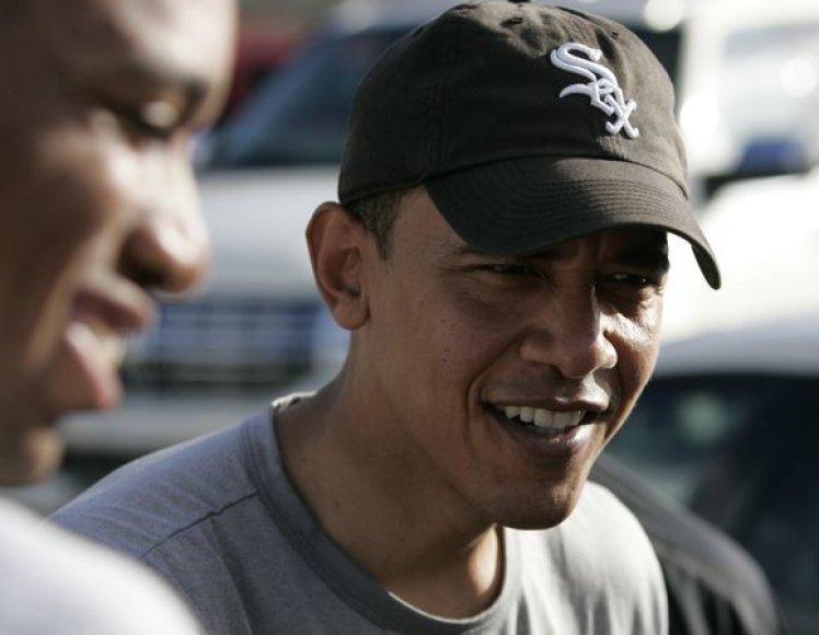Barackas Obama per atostogas Havajuose.