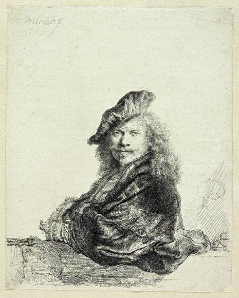 Rembrandto autoportretas