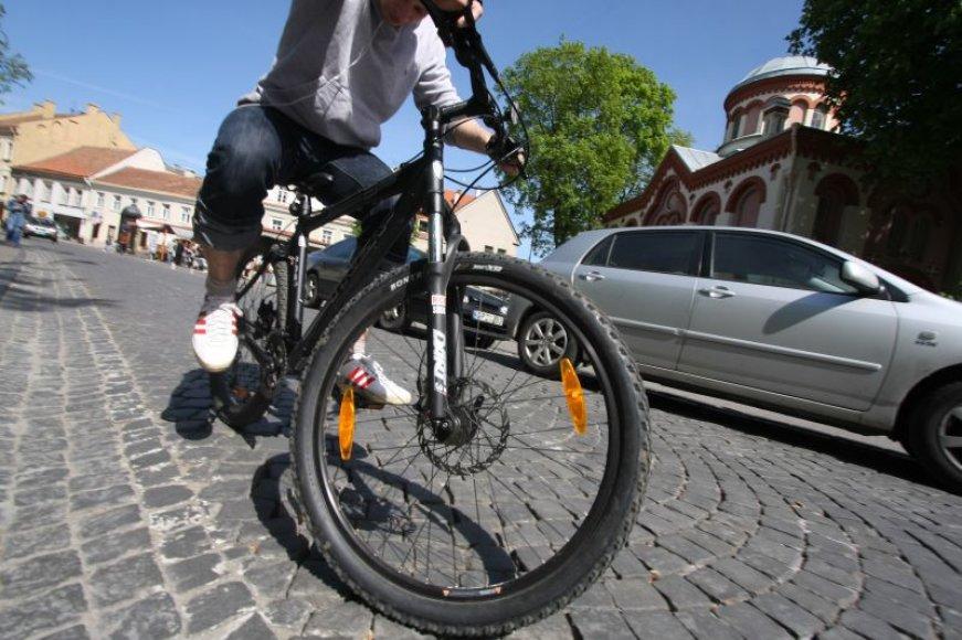 Nauja trasa dviračiams.