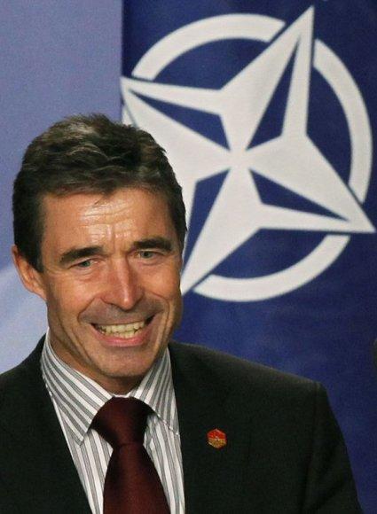 Rasmusenas yra dvyliktasis NATO vadovas