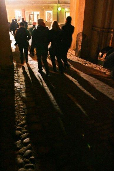 Tamsi gatvė