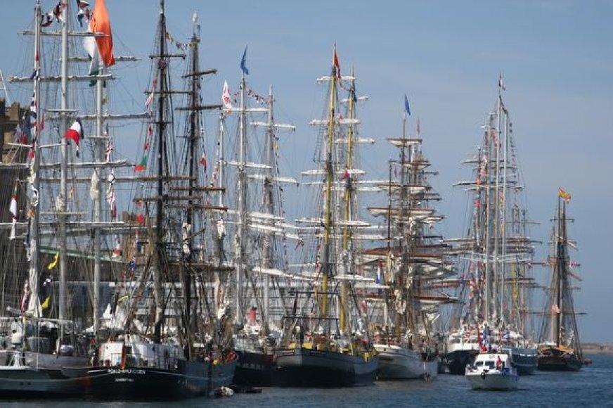 """The Tall Ships' Races Baltic 2009"""" liepos31 dienąfinišuos Klaipėdoje"""