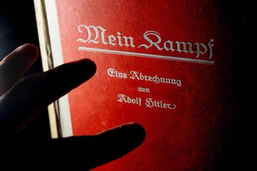 """A.Hitlerio veikalas """"Mano kova"""" (""""Mein Kampf"""")"""