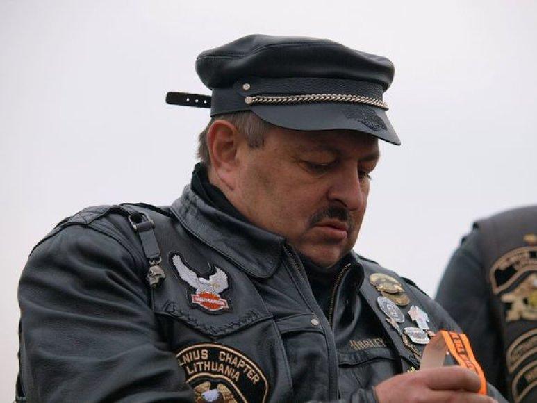 Vilniaus meras Vilius Navickas neabejingas motociklams.