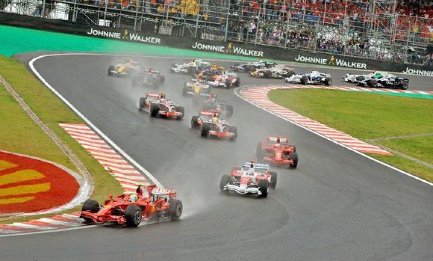 Akimirkos iš Brazilijos GP