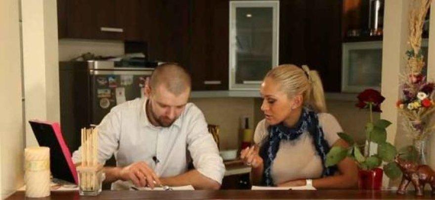 Oksana Pikul ir Linas Samėnas
