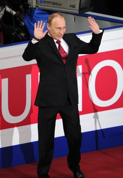 Rusijos ministras pirmininkas Vladimiras Putinas