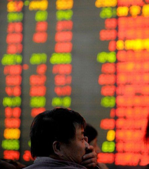 Kinijos milijardierius krečia ekonominė krizė