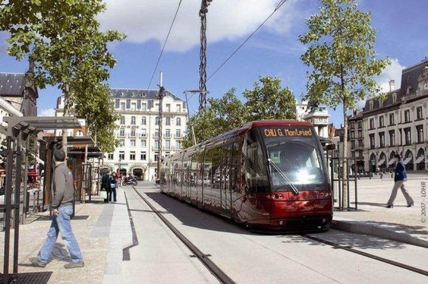 Autobuso ir troleibuso hibridu vadinama ekologiška transporto priemonė Klaipėdoje galėtų atsirasti po 10-20 metų.